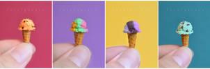 miniature ice cream I