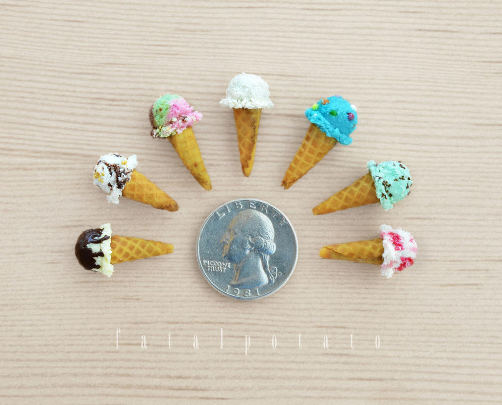 miniature ice cream II by FatalPotato