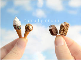 miniature ice cream IV