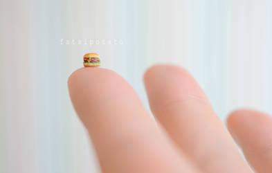itsy bitsy burger III by FatalPotato