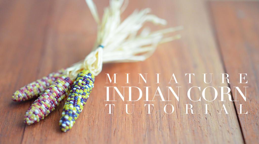 miniature indian corn tutorial by FatalPotato