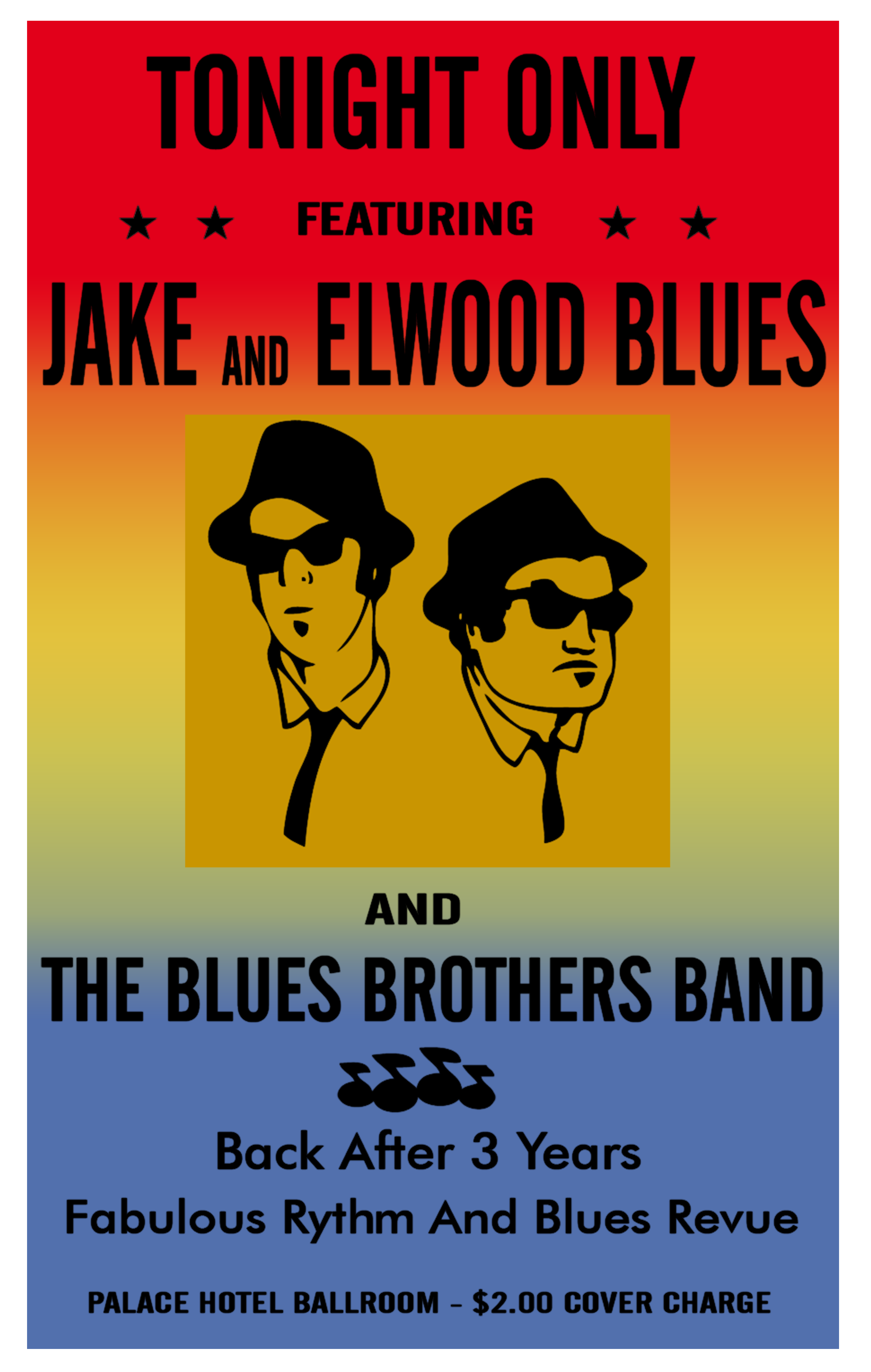 Blues Brothers Poster by BANESBOX on DeviantArt