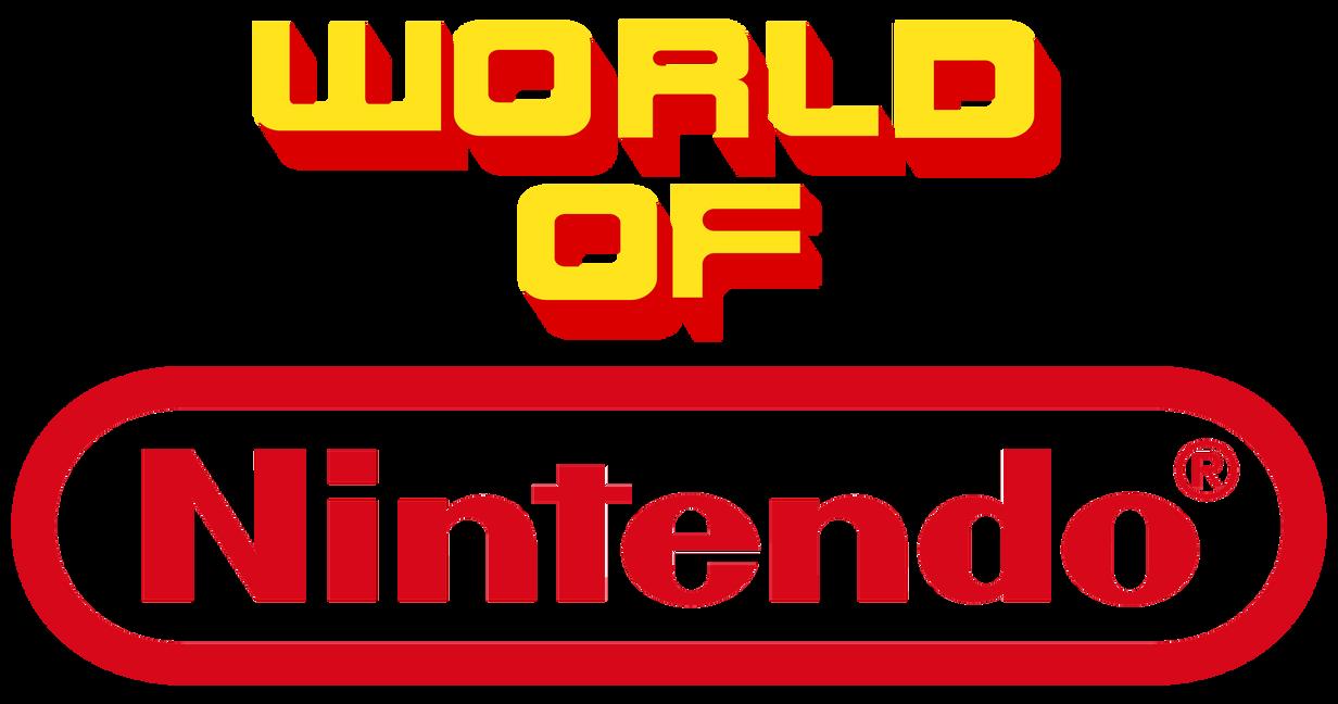 World Of Nintendo logo by BANESBOX on DeviantArt