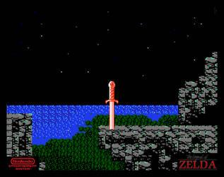 Zelda II Wall Art