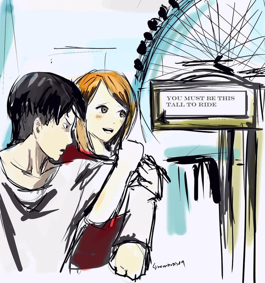 This Tall To Ride (Petra X Levi) By Sinemoras On DeviantArt