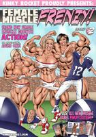 Female Muscle Frenzy #2 by KinkyRocket