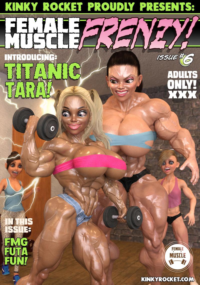 Female Muscle Frenzy 6 by KinkyRocket