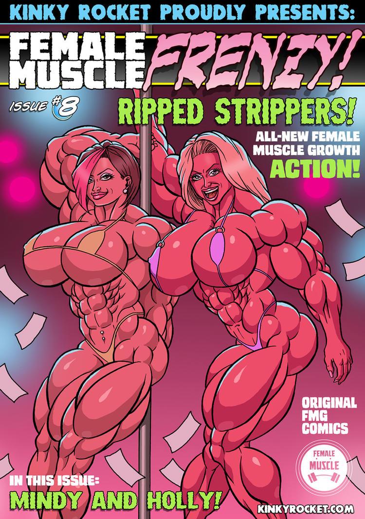 Female Muscle Frenzy 8 by KinkyRocket