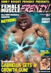 Female Muscle Frenzy 10!
