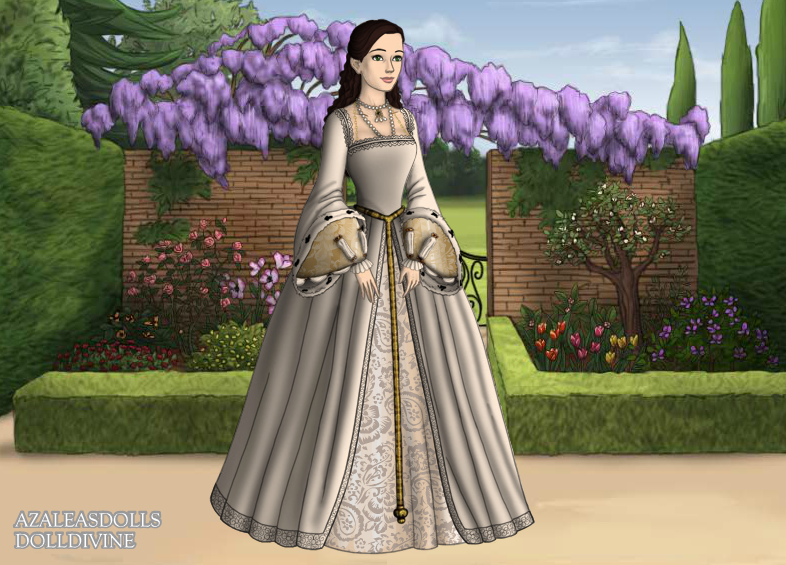 Padmes Wedding Dress Tudor Version By Andesgirl