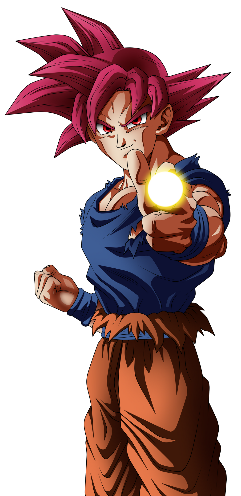 Super saiyan god goku by angelarts2 on deviantart - Sangoku super saiyan god ...