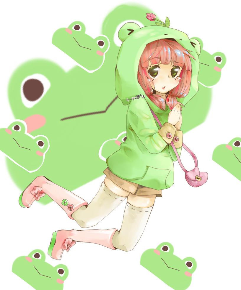 Frog Girl (Freebie) by keekihime