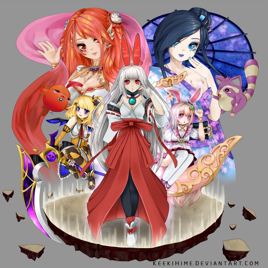 Aura Kingdom (Fantasy Frontier) by keekihime