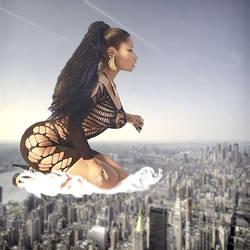 Giantess Nicki Minaj over NYC by xyu96