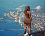 Ebony Giantess over Miami