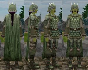 Green Custom Armor