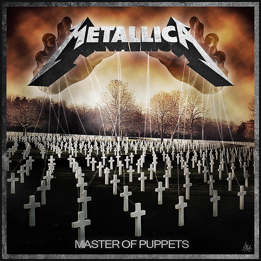 Metallica - Master of Puppets [Alternative cover] by ...