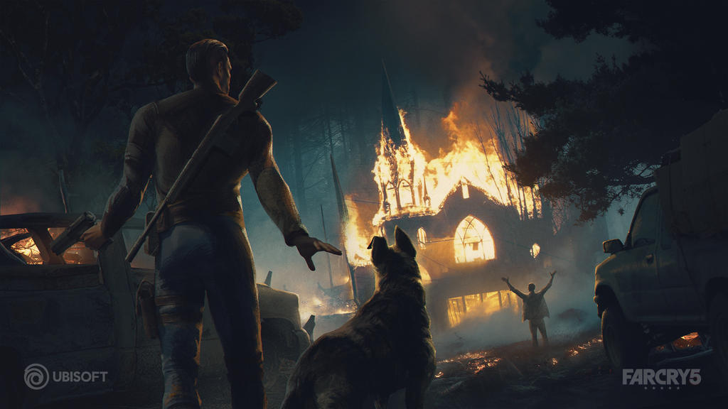 Fun Concept Art To The Release Of Far Cry 5 By Fouvist On Deviantart