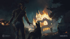 Fun concept art to the release of Far Cry 5 by fouvist