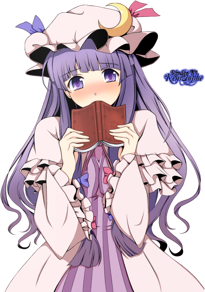 "Dorrance ""Doris"" Souris Thistle Patchouli_knowledge_render_touhou_by_kemzlophe-d632k2o"