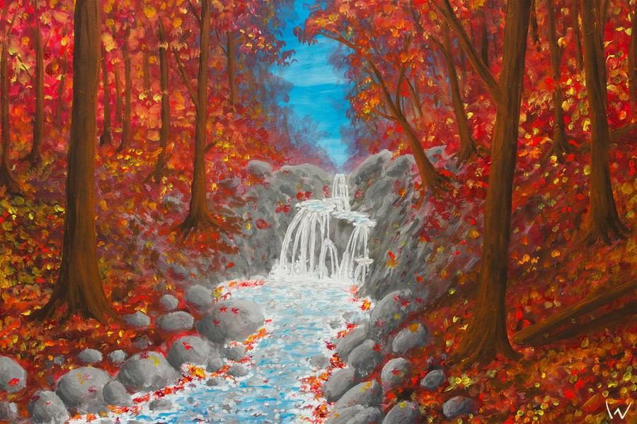 Autumn Creek by NicoW92