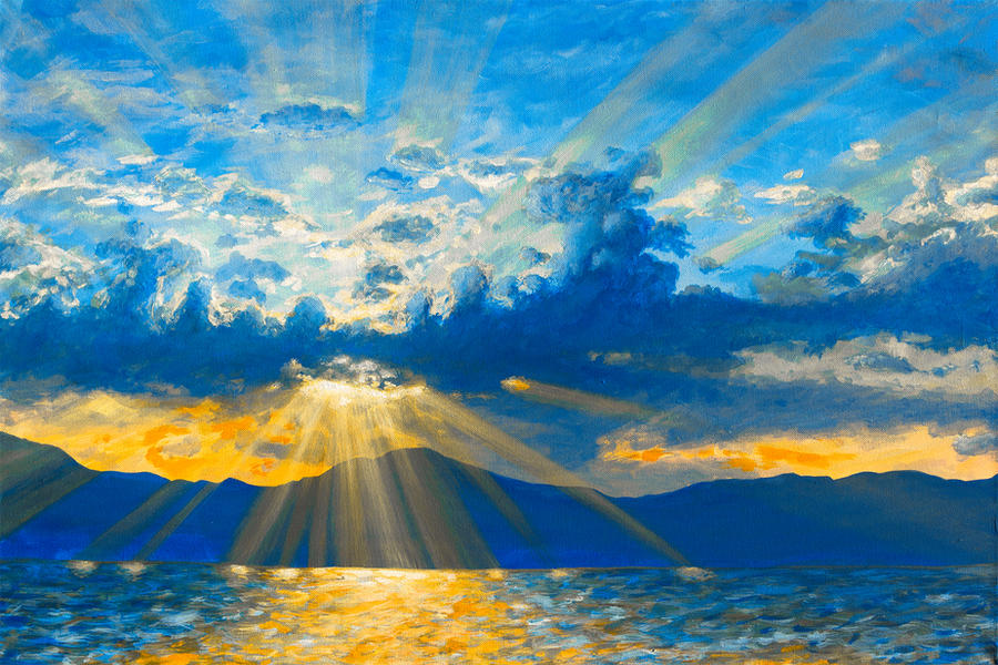 Sun Rays by NicoW92