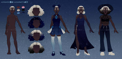Star Witch Concept Art