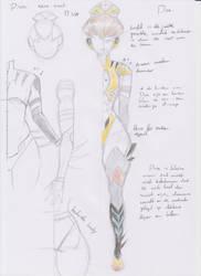ConceptArt: B-va, for a new erotic comic