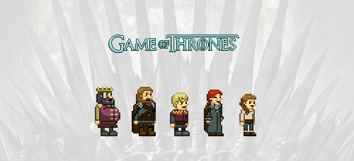 Game of Thrones (Season 1) Pixel Fanart by PastyDraws