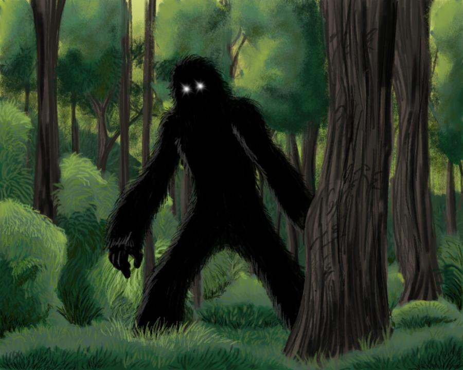 The Bigfoot's Myth by ThiagoFragosso