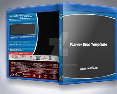 Warner Bros Blu-Ray Templante (2014) by Covrik