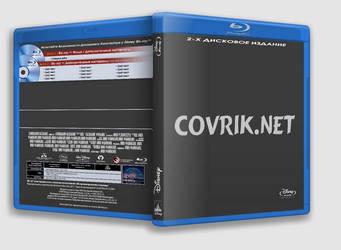 Blu-Ray  Template cover Disney by Covrik