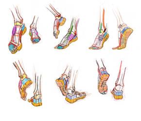 Foot by mahditaba
