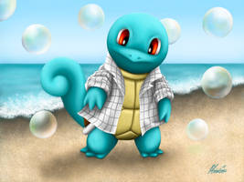 Squirtle - PMD by GhoulTamer