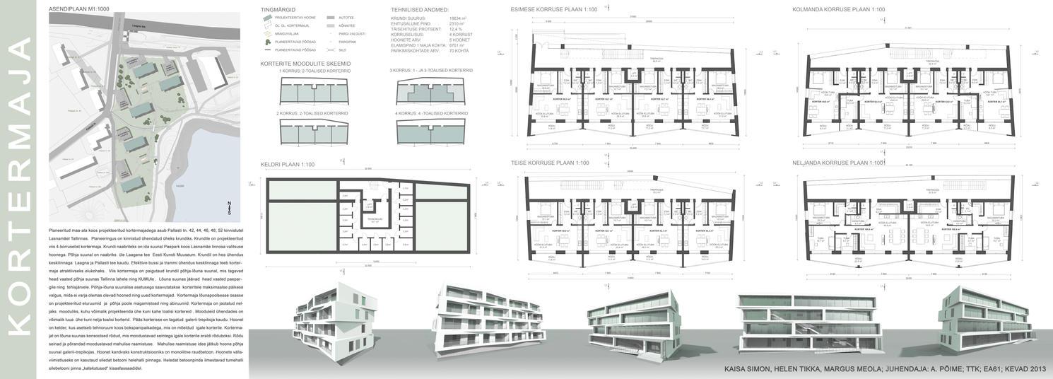Apartment House by Hellluke