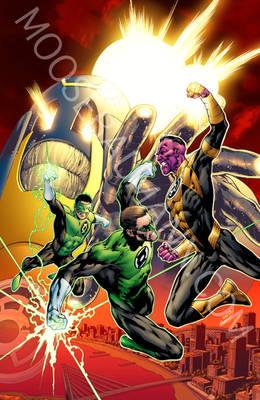 Green Lantern Cvr25