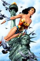 Wonder Woman by MooseBaumann
