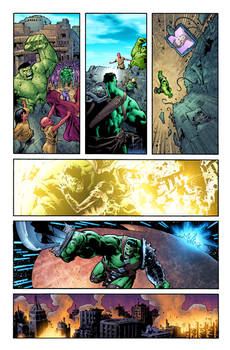 WHAT IF: PLANET HULK #1 page 1