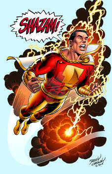 The Real Captain Marvel!