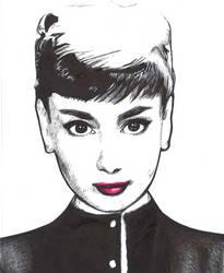Audrey Hepburn by ObnoxiousTeaCup