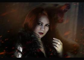 The bear and the maiden fair by NimfiteminAngo