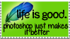 Life Is Good - STAMP by ADistantLullaby131
