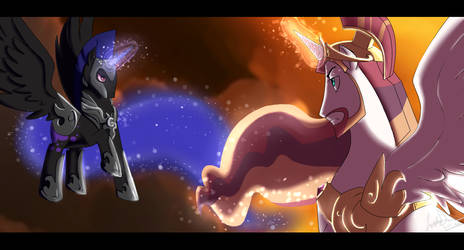 Brother Vs. Brother by cookiecutter60
