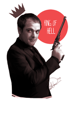 Crowley-King of Hell by cookiecutter60
