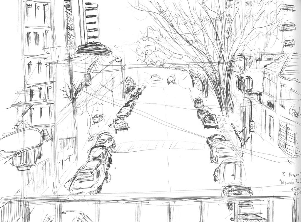 Rua Mateus Grou - Black line by LCVII