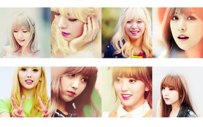 8 icon YoonJo and Alice HELLO VENUS by JunielAppler