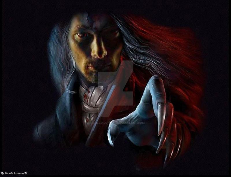 Bradley James as a vampire by Nicole21Lohmar