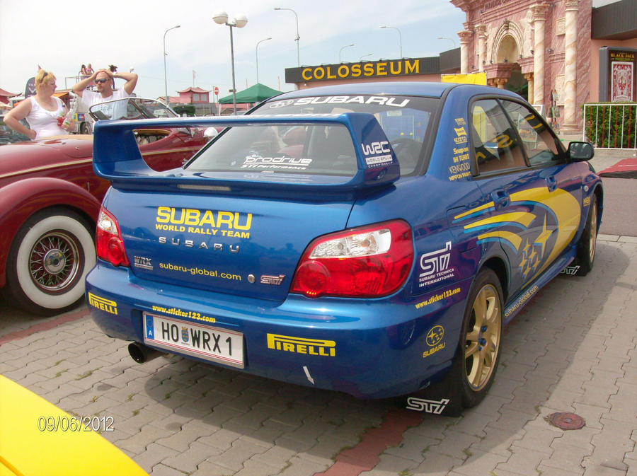 Subaru Impreza WRX STI Rally Car Back by CynderxNero on DeviantArt