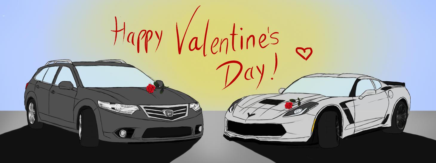 Happy Valentine's day~ by CynderxNero