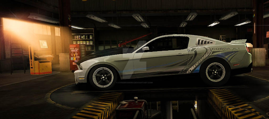 Drag Mustang NFS World by CynderxNero